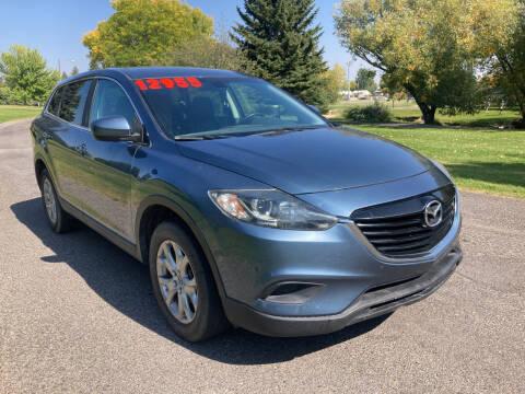 2015 Mazda CX-9 for sale at BELOW BOOK AUTO SALES in Idaho Falls ID
