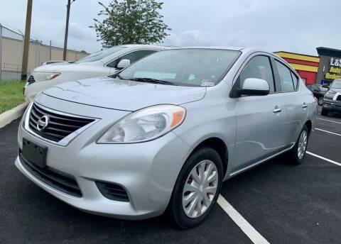 2012 Nissan Versa for sale at L & S AUTO BROKERS in Fredericksburg VA