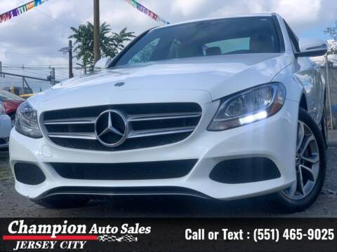 2018 Mercedes-Benz C-Class for sale at CHAMPION AUTO SALES OF JERSEY CITY in Jersey City NJ
