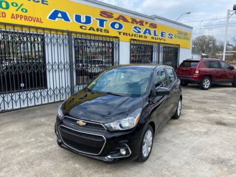 2017 Chevrolet Spark for sale at Sam's Auto Sales in Houston TX