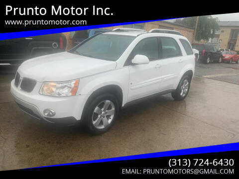2008 Pontiac Torrent for sale at Prunto Motor Inc. in Dearborn MI