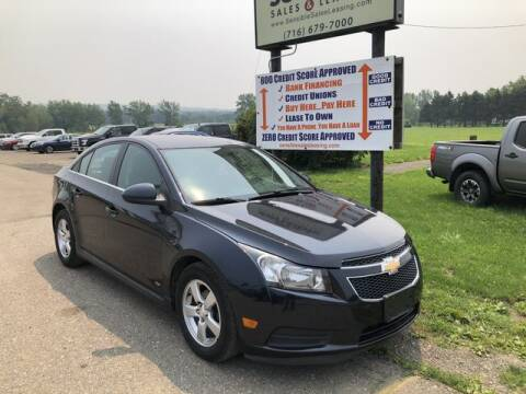 2016 Chevrolet Cruze Limited for sale at Sensible Sales & Leasing in Fredonia NY