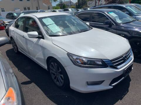 2015 Honda Accord for sale at Park Avenue Auto Lot Inc in Linden NJ