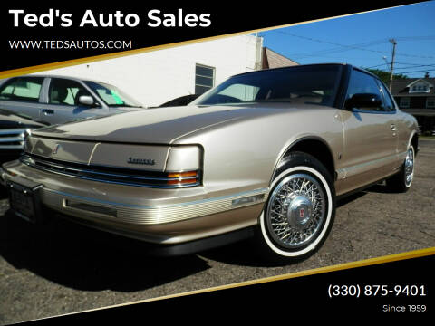 1992 Oldsmobile Toronado for sale at Ted's Auto Sales in Louisville OH