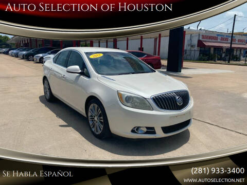 2013 Buick Verano for sale at Auto Selection of Houston in Houston TX