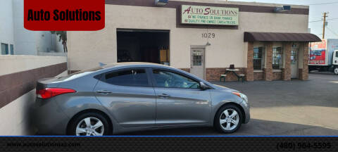 2013 Hyundai Elantra for sale at Auto Solutions in Mesa AZ