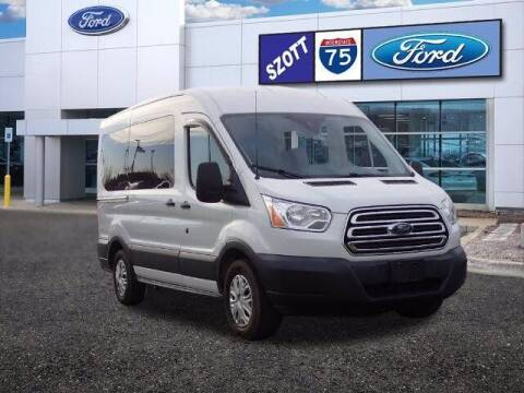 2015 Ford Transit Passenger for sale at Szott Ford in Holly MI