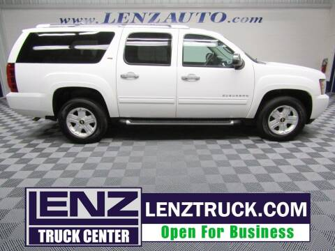 2013 Chevrolet Suburban for sale at LENZ TRUCK CENTER in Fond Du Lac WI