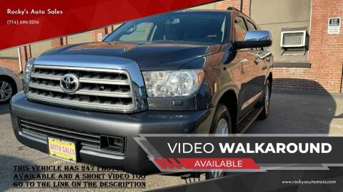 2012 Toyota Sequoia for sale at Rocky's Auto Sales in Worcester MA