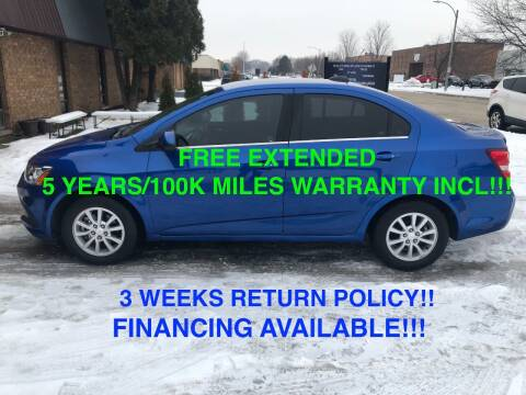 2018 Chevrolet Sonic for sale at Mikes Auto Forum in Bensenville IL
