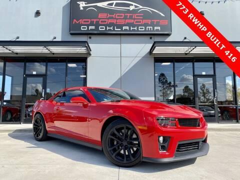 2012 Chevrolet Camaro for sale at Exotic Motorsports of Oklahoma in Edmond OK