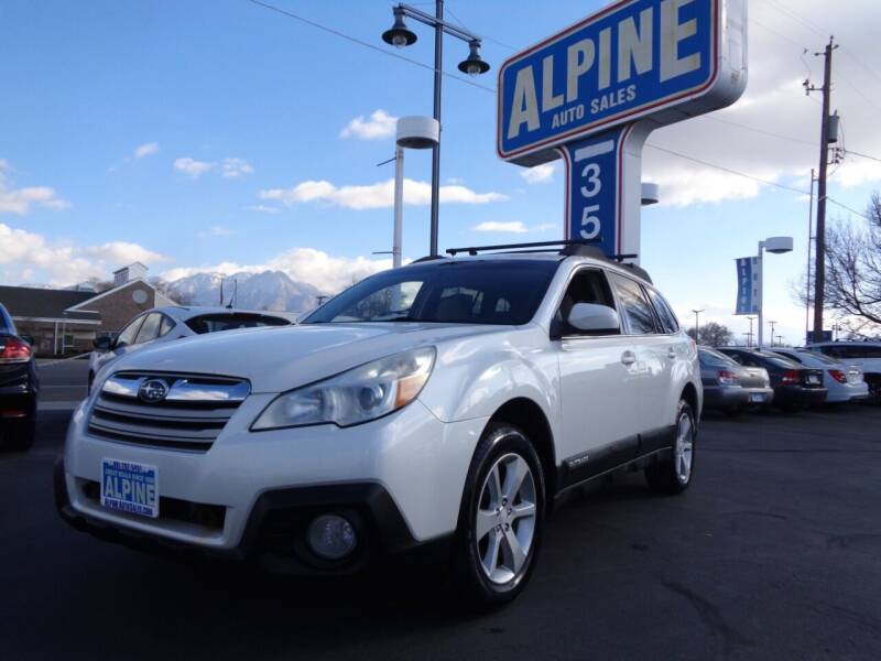 2013 Subaru Outback for sale at Alpine Auto Sales in Salt Lake City UT