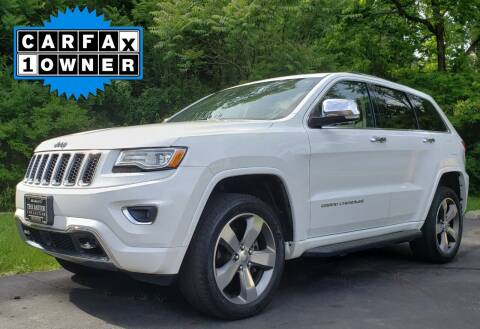 2015 Jeep Grand Cherokee for sale at The Motor Collection in Columbus OH