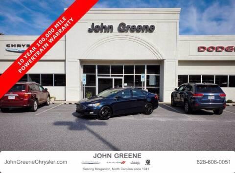 2020 Ford Fusion for sale at John Greene Chrysler Dodge Jeep Ram in Morganton NC