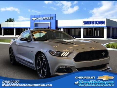 2016 Ford Mustang for sale at CHEVROLET OF SMITHTOWN in Saint James NY