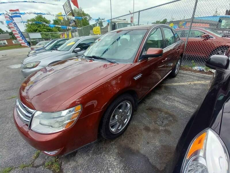 2008 Ford Taurus for sale at One Stop Auto Sales in Midlothian IL