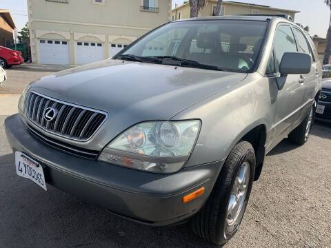 2002 Lexus RX 300 for sale at North County Auto in Oceanside CA