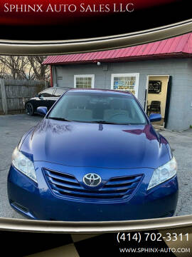 2007 Toyota Camry for sale at Sphinx Auto Sales LLC in Milwaukee WI