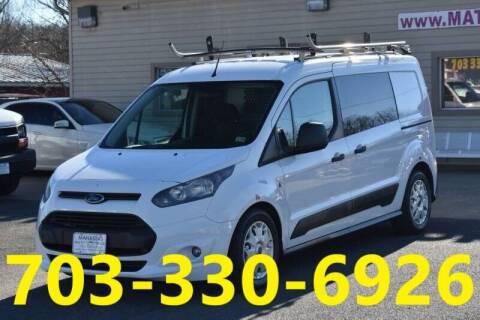 2014 Ford Transit Connect Cargo for sale at MANASSAS AUTO TRUCK in Manassas VA