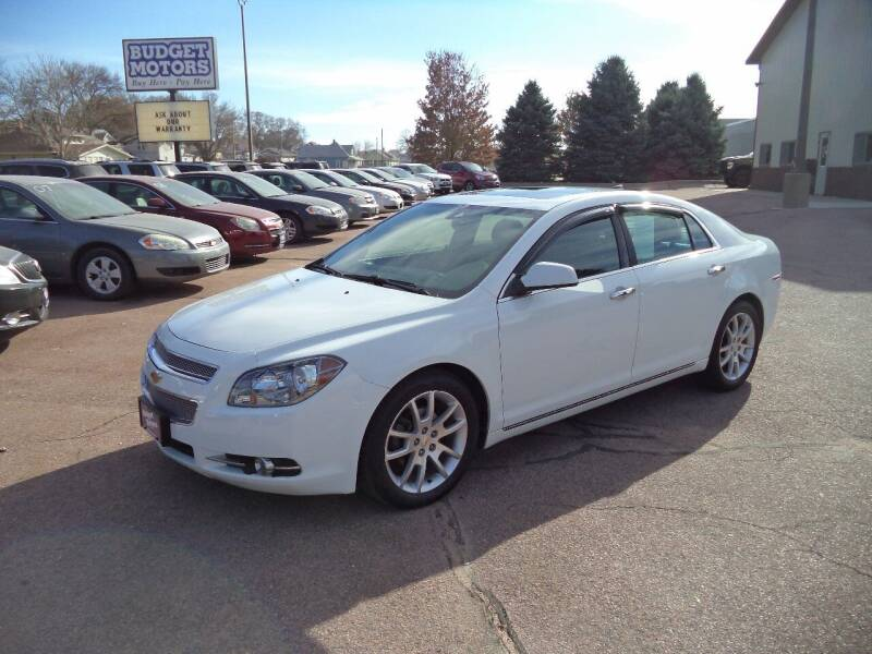 2012 Chevrolet Malibu for sale at Budget Motors - Budget Acceptance in Sioux City IA