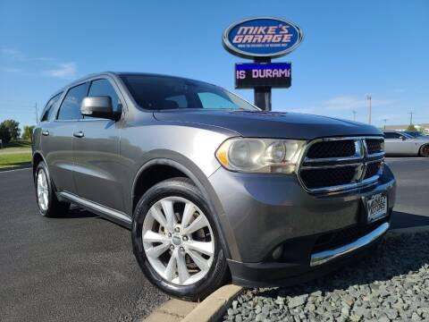 2012 Dodge Durango for sale at Monkey Motors in Faribault MN