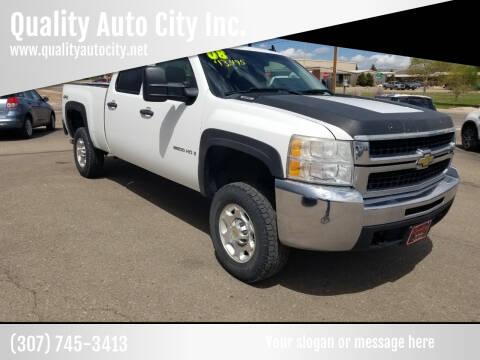 2008 Chevrolet Silverado 2500HD for sale at Quality Auto City Inc. in Laramie WY