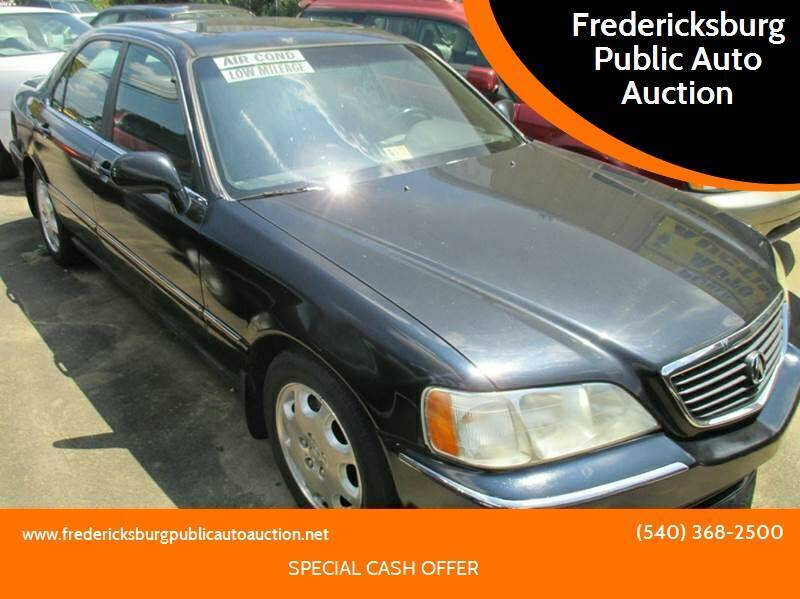 1999 Acura RL for sale at FPAA in Fredericksburg VA
