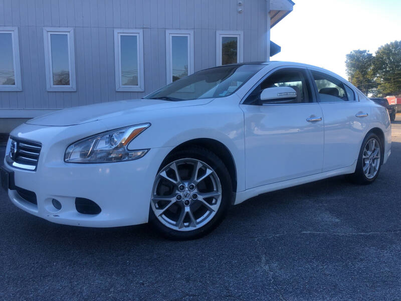 2012 Nissan Maxima for sale at Beckham's Used Cars in Milledgeville GA