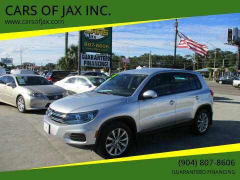 2014 Volkswagen Tiguan for sale at CARS OF JAX INC. in Jacksonville FL