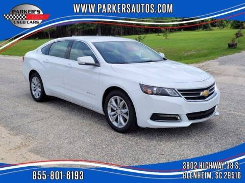 2020 Chevrolet Impala for sale at Parker's Used Cars in Blenheim SC