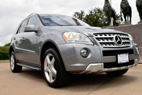 2011 Mercedes-Benz M-Class for sale at European Motor Cars LTD in Fort Worth TX