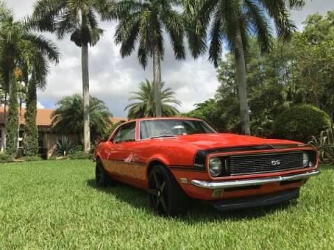 1968 Chevrolet Camaro for sale at Classic Car Deals in Cadillac MI