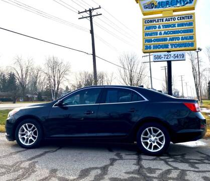 2013 Chevrolet Malibu for sale at JEREMYS AUTOMOTIVE in Casco MI