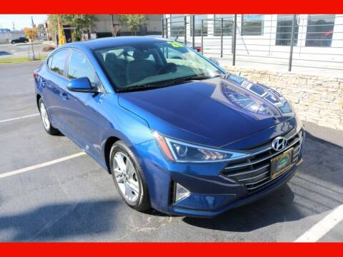 2020 Hyundai Elantra for sale at AUTO POINT USED CARS in Rosedale MD