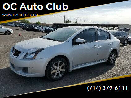 2012 Nissan Sentra for sale at OC Auto Club in Midway City CA