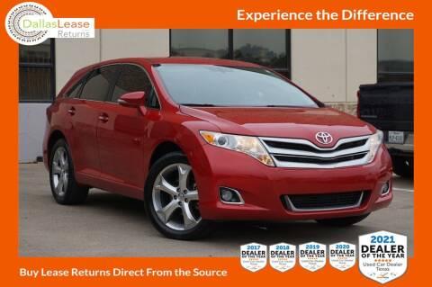 2014 Toyota Venza for sale at Dallas Auto Finance in Dallas TX
