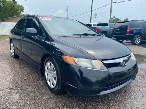 2008 Honda Civic for sale at Harry's Auto Sales, LLC in Goose Creek SC