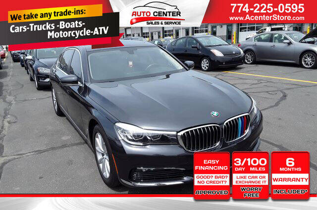 2017 BMW 7 Series for sale in West Bridgewater, MA