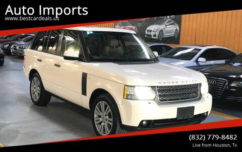 2010 Land Rover Range Rover for sale at Auto Imports in Houston TX