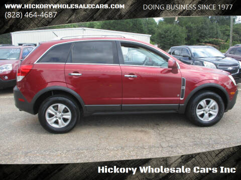 2008 Saturn Vue for sale at Hickory Wholesale Cars Inc in Newton NC