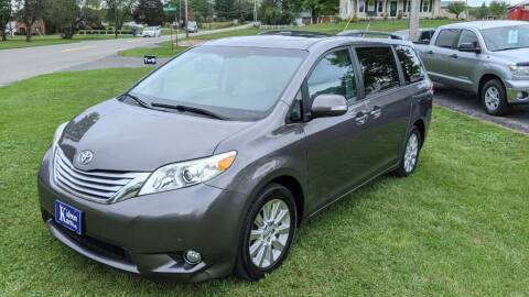 2013 Toyota Sienna for sale at Kidron Kars INC in Orrville OH