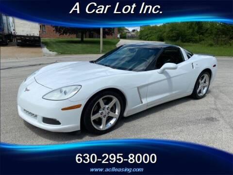 2005 Chevrolet Corvette for sale at A Car Lot Inc. in Addison IL