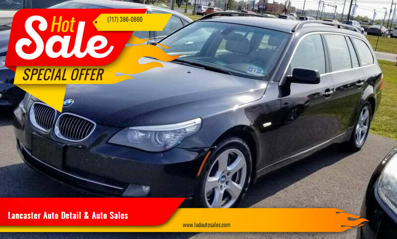 2008 BMW 5 Series for sale at Lancaster Auto Detail & Auto Sales in Lancaster PA