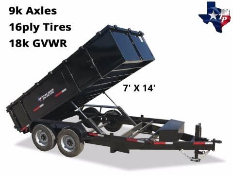 2021 TEXAS PRIDE 7' X 14' Bumper Pull 18K for sale at Montgomery Trailer Sales - Texas Pride in Conroe TX