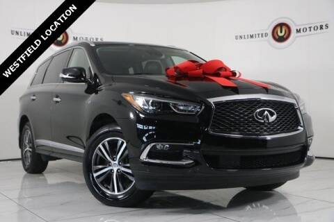 2019 Infiniti QX60 for sale at INDY'S UNLIMITED MOTORS - UNLIMITED MOTORS in Westfield IN