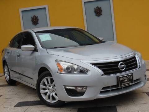 2015 Nissan Altima for sale at Paradise Motor Sports LLC in Lexington KY