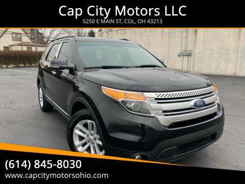 2012 Ford Explorer for sale at Cap City Motors LLC in Columbus OH