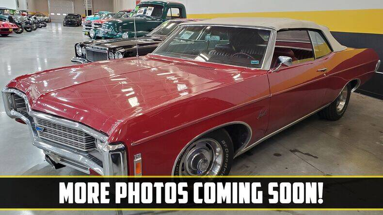 1969 Chevrolet Impala for sale at UNIQUE SPECIALTY & CLASSICS in Mankato MN