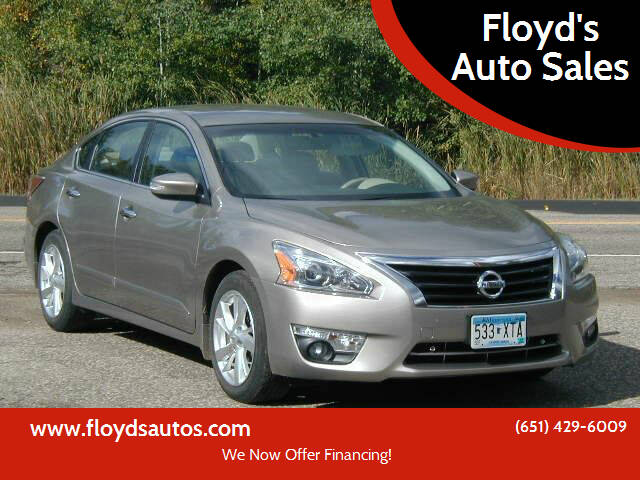 2014 Nissan Altima for sale at Floyd's Auto Sales in Stillwater MN