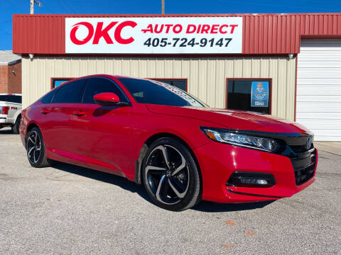 2019 Honda Accord for sale at OKC Auto Direct in Oklahoma City OK